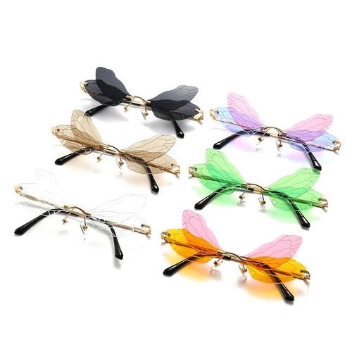 Fairy wing glasses - 6 colours