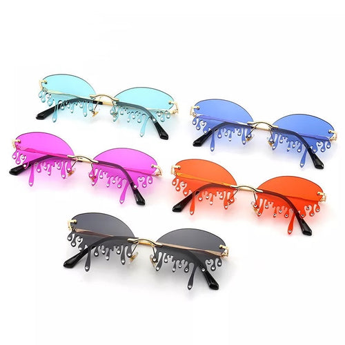 Diamond Drip glasses - 8 colours