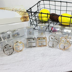 Clear belt - 3 buckle styles