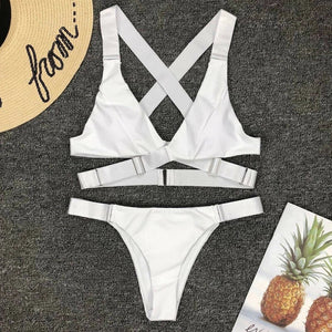 'Palm Beach' bikini set - 2 colours