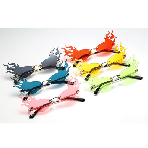 Flaming sunglasses - 6 colours