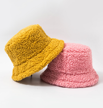 Load image into Gallery viewer, Teddy Bear Bucket Hat - 8 Colours