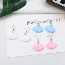 Load image into Gallery viewer, Cloud Watching earrings - 4 colours