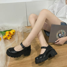 Load image into Gallery viewer, Mary Jane Platform Shoes - Patent & Matte