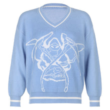 Load image into Gallery viewer, Grimm Reaper Knit Sweater - 4 Colours