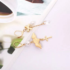 'Angel at heart' earrings