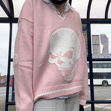 Load image into Gallery viewer, Skully Knit Sweater - 5 Colours