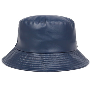 Pleather Bucket Hat - 5 Colours