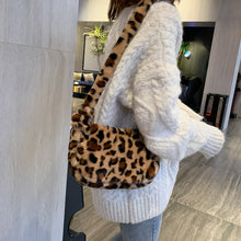 Load image into Gallery viewer, Leopard Print Shoulder Bag - 2 Colours