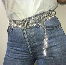 Load image into Gallery viewer, 'Diamante' rhinestone sparkle belt