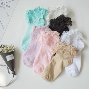 Frilly Socks - 6 colours