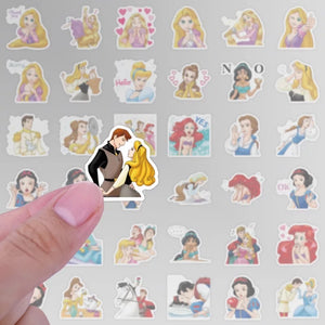 Princess sticker pack - 40 pieces