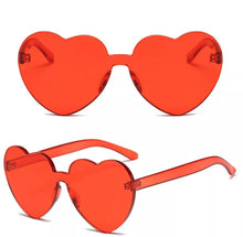 Load image into Gallery viewer, Heart shaped glasses - 9 colours
