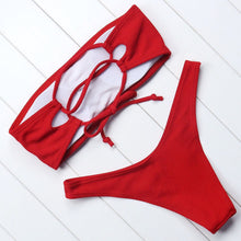 Load image into Gallery viewer, 'Hold me close' ribbed bikini set - 5 colours