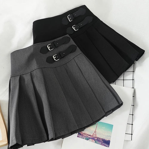 'Jada' Pleated Mini Skirt - 2 Colours