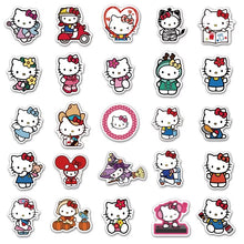 Load image into Gallery viewer, Hello Kitty stickers - 50 pieces