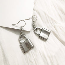 Load image into Gallery viewer, Padlock earrings