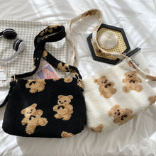 Load image into Gallery viewer, Teddy Bear Adjustable Shoulder Bag - 3 Colours