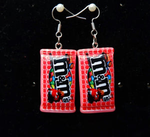 M&ms earrings - 6 colours