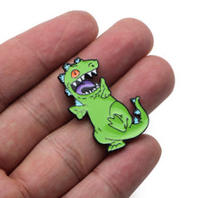 Load image into Gallery viewer, 'Reptar' enamel pin
