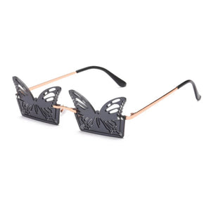 Rectangle Butterfly Shaped Sunglasses - 5 Colours
