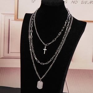Pack of 3 chunky chain necklaces