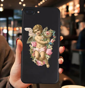 Angel silicone iPhone case - 4 colours