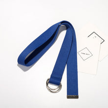 Load image into Gallery viewer, Long D ring buckle belt - 15 colours