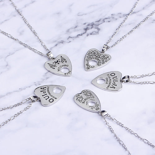 Planchette necklace - 5 styles