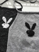 Load image into Gallery viewer, Playboy bunny handmade knitted crop tops - 5 colours