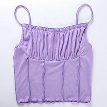 Load image into Gallery viewer, 'Anaya' ruched crop top - 4 colours
