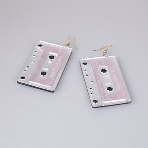 Cassette tape earrings - 3 colours