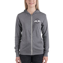 Load image into Gallery viewer, Bunny Lover Unisex zip hoodie