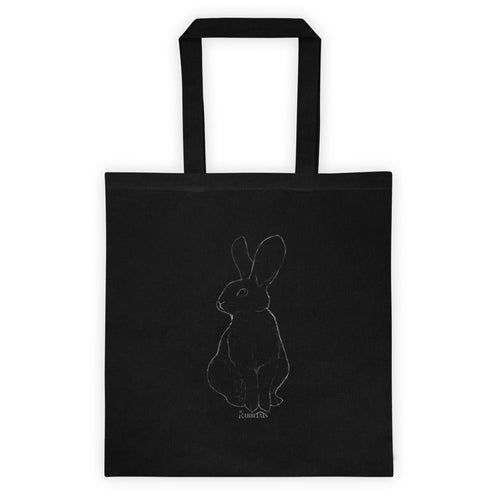 Midnight Rabbit Tote bag