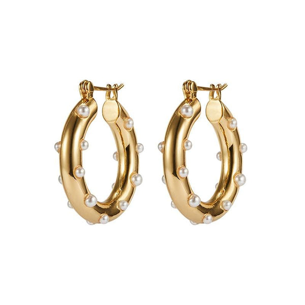 Alba Gold Earrings