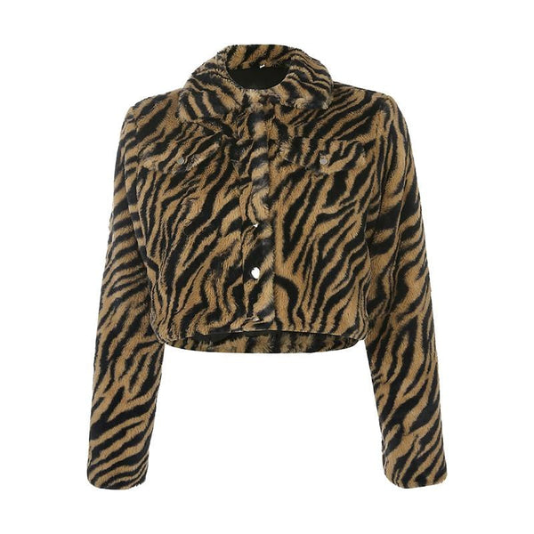 Animal Pattern Jacket