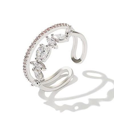 Antifer Silver Ring
