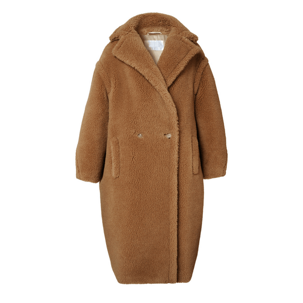 Chico Camel Faux Shearling Coat