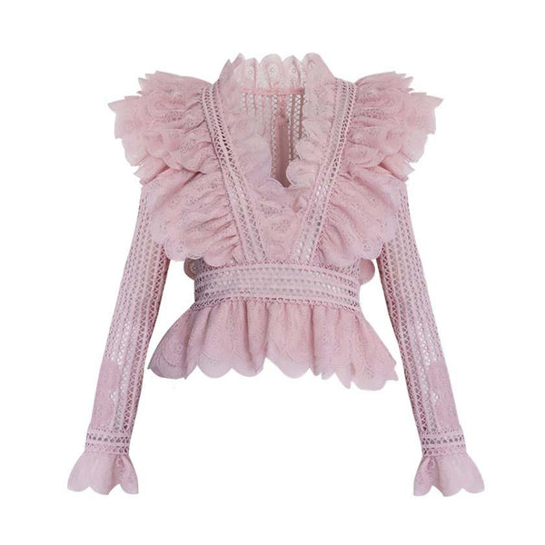Chloe Ruffled Top