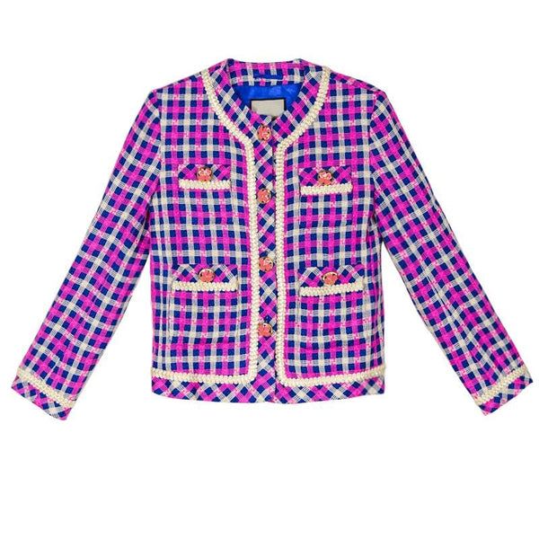 Christy Checked Jacket