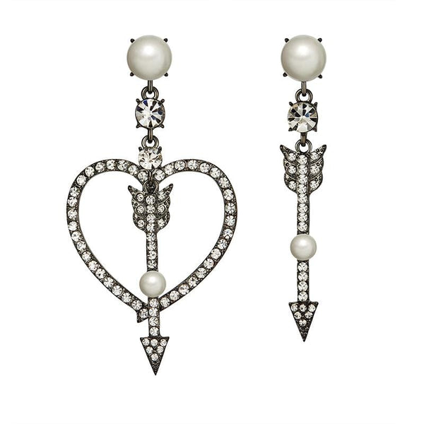 Collection Heart Pattern Earrings