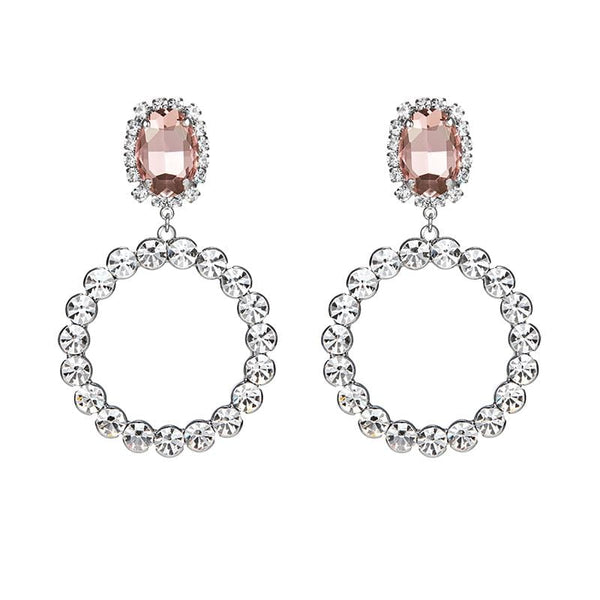 Dentelle Crystal Earrings