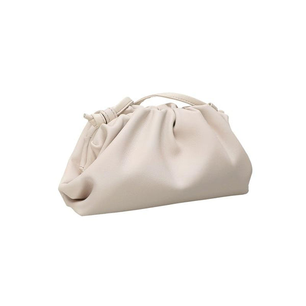 Diana White Clutch Bag