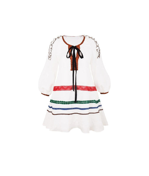 Eido Embroidered Dress