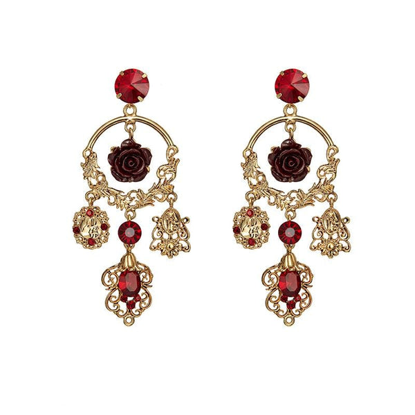 Futu Crystal Earrings