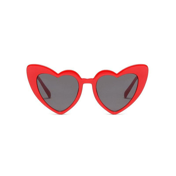 Heart Red Sunglasses