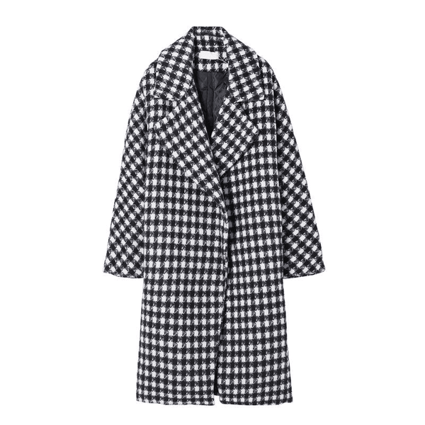 Houndstooth Pattern Jacket