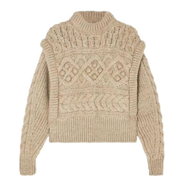 Leon Knitted  Brown Sweater