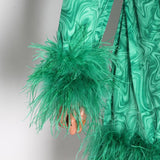 Lucie Feather Dress