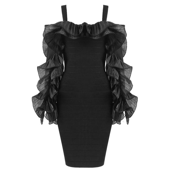 Melinnda Black Dress